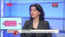"""Cécile Duflot : """"Le projet [du Grand Paris]  de Nicolas Sarkozy et de Christian Blanc (…) était un projet totalement déconnecté"""""""
