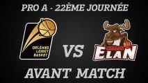 Avant-Match - J22 - Réception de Chalon au Zénith