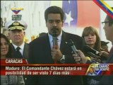 Cuerpo del presidente Chávez será embalsamado, velado por siete días más y trasladado al Museo Histórico Militar