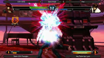 King of Fighters 13 2vs2 Top 8