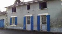 Maison de village 3 chambres à rénover  Roumazières-Chass