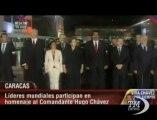 Venezuela, i leader sudamericani ai funerali di Chavez. Lula, Rousseff e Raul Castro a Caracas per i funerali