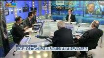 BCE : Draghi est-il sourd à la révolte ? - 7 mars - BFM : Les décodeurs de l'éco 2/5
