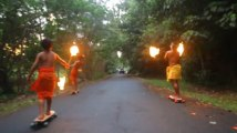 Fireknife Longboarding - Hawaii - 2011
