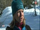 Portrait de femme :Cécile guide en haute montagne(Chamonix)