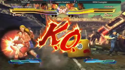 Street Fighter X Tekken Top 8