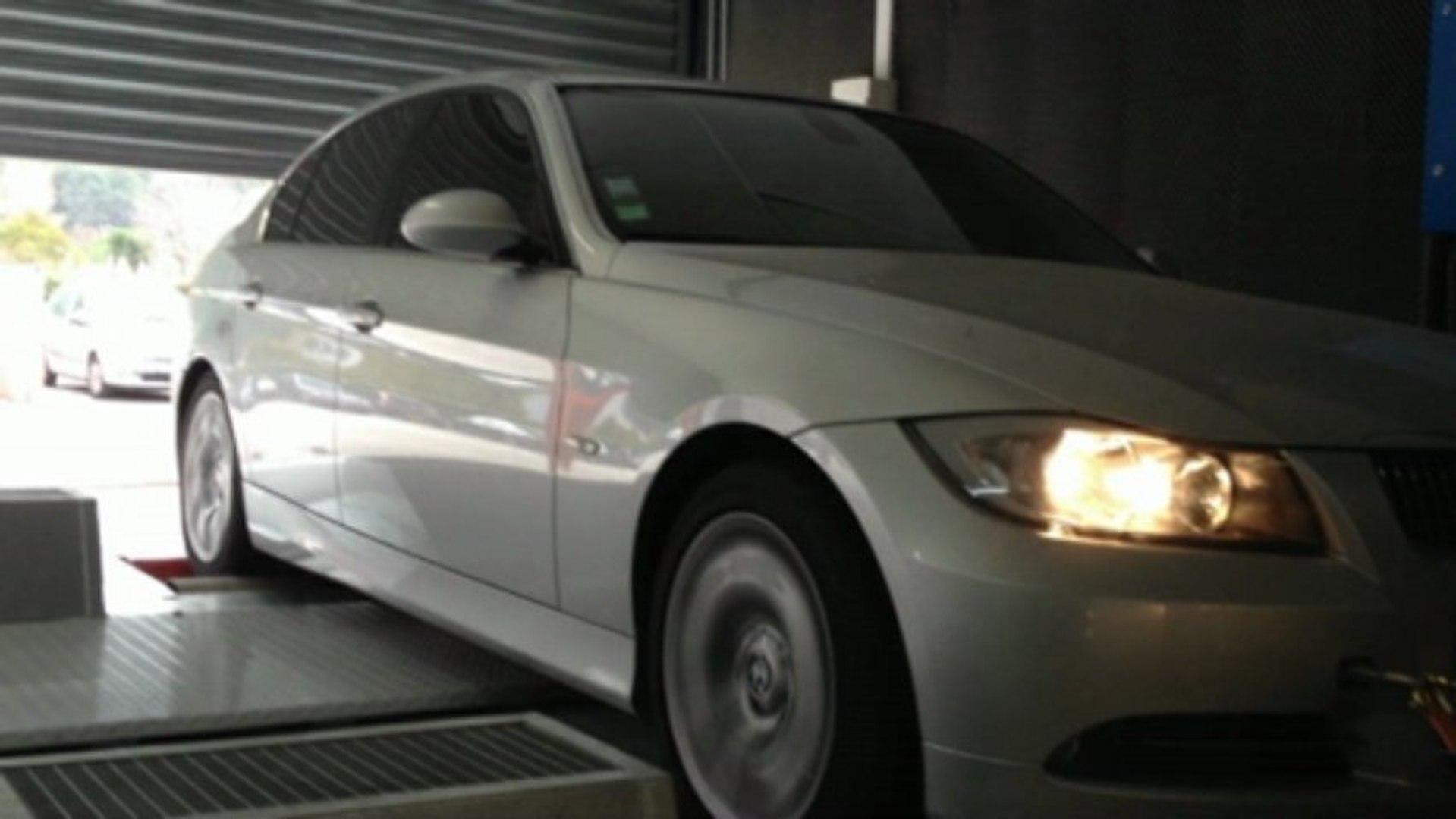::: o2programmation ::: BMW 330d 234@289Cv Reprogrammation moteur sur banc  de puissance Marseille PACA