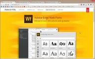 Adobe Edge Web Fonts bibliothèque de polices web gratuites