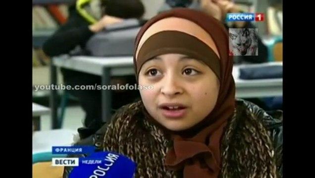 Reportage de la TV russe sur l'islamisation de la France