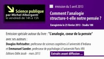 L'analogie - Science Publique du 5 avril 2013 - Extraits