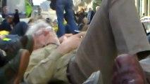 5/5 : Chaîne humaine anti-nucléaire devant AREVA, 33 rue de Lafayette Paris le 09/03/2013