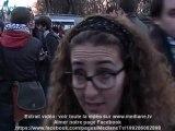 Manifestation contre la venue de Shimon Peres à Bruxelles