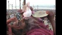 Hindus plunge into Ganges River