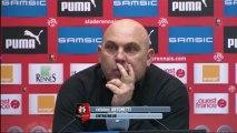 Conférence de presse Stade Rennais FC - AS Saint-Etienne : Frédéric  ANTONETTI (SRFC) - Christophe  GALTIER (ASSE) - saison 2012/2013