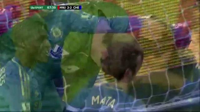 FA Cup : Manchester United vs Chelsea 2-2