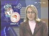 2004 (December 8) Liverpool (England) 3-Olympiakos (Greece) 1 (Champions League)