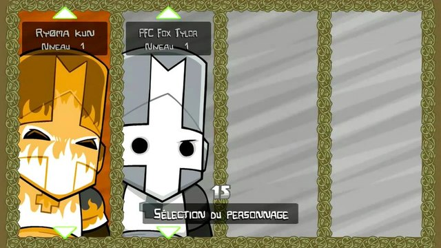 Périple Castle Crashers (Xbox 360 / Part 1 / Gastro Party)