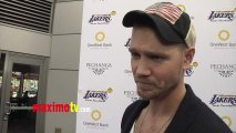 Chad Michael Murray Interview Lakers Casino Night After Lakers-Bull Game March 10, 2013
