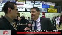Interview Jean-Pierre SUITAT - Président Fédération Française de Basket