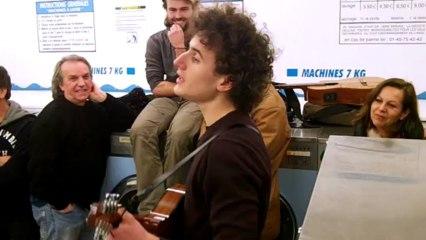Je joue d'la mandoline (Bourvil) - Sylvain @ Lavomatic Tour (Saison 6 - 2013-02-06)