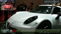 Alfa Romeo 4c salon de l'auto de geneve 2013