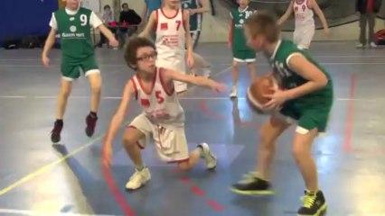 Match de l'Elan Sportif Chalonnais vs Saint-Loup - Basket Mini Poussin