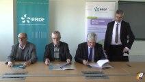 ERDF et les bailleurs sociaux ont signé une convention pour une meilleure collaboration :