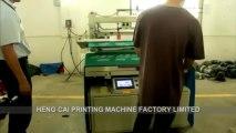 Electric Screen Printing Machine, Tilted-arm vacuum table screen printer
