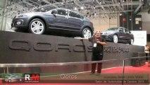 QOROS, le chinois au salon de l'auto de geneve 2013
