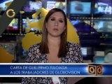 "Carta de Guillermo Zuloaga a los trabajadores de Globovisión: ""son mi mayor preocupación"""