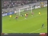 2007 (February 20) PSV Eindhoven (Holland) 1-Arsenal (England) 0 (Champions League)