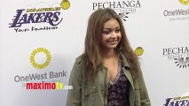 Sarah Hyland Lakers Casino Night After Lakers-Bull Game March 10, 2013