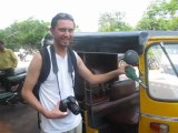 Pouet-Pouet Rickshaw Pondichéry Inde du Sud