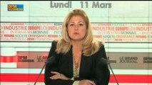 Jean-Paul Fitoussi, OFCE et Louis Schweitzer, France Initiative - 11 mars - Le Grand Journal 3/4