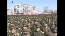 North Korea and South Korea hold duelling rallies as tension builds