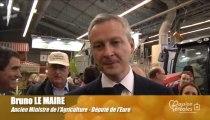 Les céréales vues par Bruno Le Maire