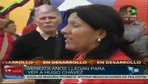 Por séptimo día Venezuela rinde honores a Chávez