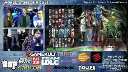 WGC 2013 Soulcalibur 5 Solo Top 8 part 2