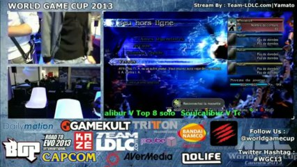 WGC 2013 Soulcalibur 5 Solo Top 8 part 1