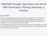 PMP Training in Houston  |PMP Certification Houston  | Project Management Courses Houston | PMP Training  Houston