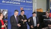 Cocumont: Inauguration de la caserne des pompiers
