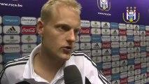 Reactions after RSC Anderlecht - Beerschot AC
