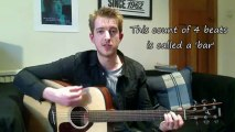 Absolute beginners first guitar lesson- Two easy chords, easy songs Absolute Beginners Guitar Lesson- Two Easy Chords