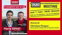 20130311-Discours de Christian Picquet-Meeting de soutien au Front de gauche