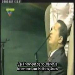 DISCOURS CHRISTIQUE DE HUGO CHAVEZ A L'ONU SEPT. 2006
