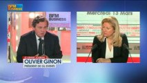 Olivier Ginon, président de GL Events - 13 mars - BFM : Le Grand Journal 3/4