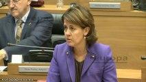 Barcina dice que el Gobierno no va a dimitir