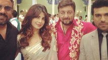 Priyanka Chopra, Sanjay Dutt ,Ram Charan Teja, On The Sets Of Zanjeer!
