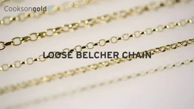 Jewellery Making Supplies - Loose Belcher Chain from Cookson Gold