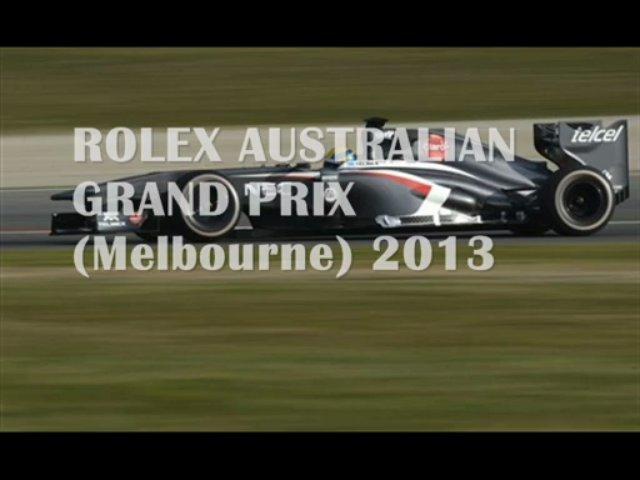 AUSTRALIAN GRAND PRIX (Melbourne)